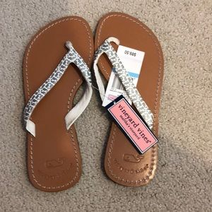 Vineyard Vines Whale Flip Flops - New With Tags!